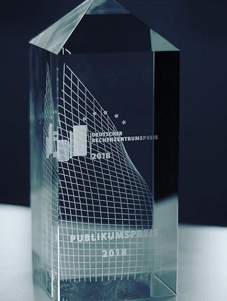 Rechenzentrumspreis 2018